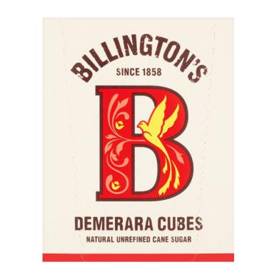 Nerafinuotas cukranendrių cukrus kubeliais Demerara BILLINGTON'S, 750 g