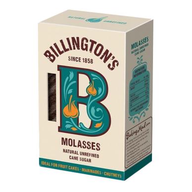 Nerafinuotas cukranendrių cukrus Molasses BILLINGTON'S, 500 g