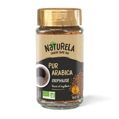 Ekologiška tirpi kava NATURELA, 100 g