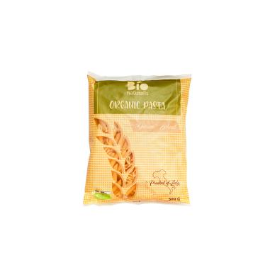Ekologiški kietųjų kviečių makaronai BIONATURALIS (PENNE), 500 g
