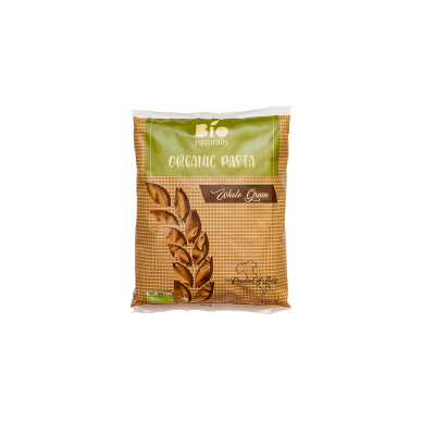 Ekologiški pilno grūdo makaronai BIONATURALIS (PENNE), 500 g