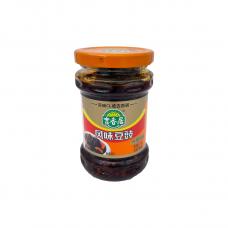Fermentuotų juodųjų sojos pupelių padažas su čili pipirais JI XIANG JU, 210 g