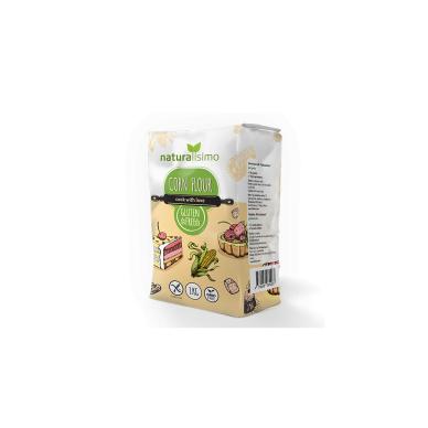 Kukurūzų miltai be glitimo NATURALISIMO, 1 kg