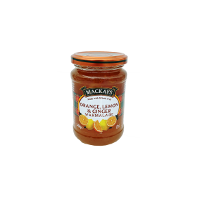 Marmeladas citrusinis su imbieru MACKAYS, 340 g