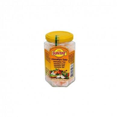 Natūrali stambi Himalajų druska (rožinė) SUNTAT, 175 g