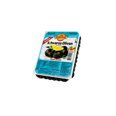 """Juodosios alyvuogės """"Extra"""" su kauliukais SUNTAT, 400 g"""