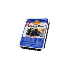 """Juodosios alyvuogės """"Super"""" su kauliukais SUNTAT, 400 g"""