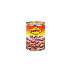 Konservuotos virtos margos pupelės SUNTAT, 400 g