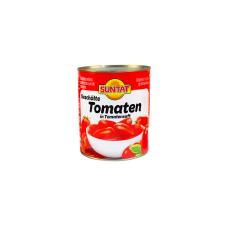 Lupti pomidorai savo sultyse SUNTAT, 800 g