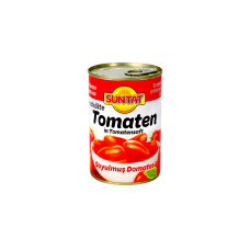 Lupti pomidorai savo sultyse SUNTAT, 400 g