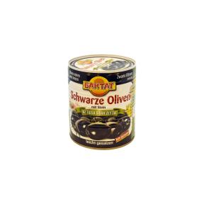 Juodosios alyvuogės silpnai sūrios SUNTAT, 800 g