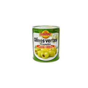 Žaliosios alyvuogės be kauliukų SUNTAT, 800 g