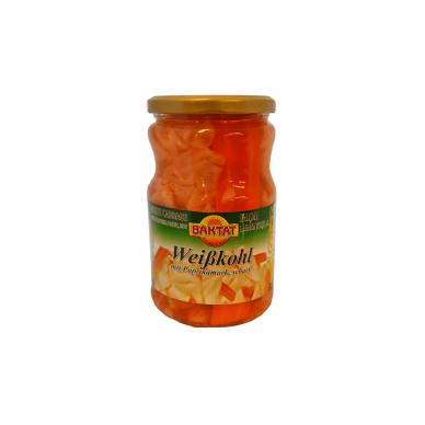 Aštrios kopūstų salotos su paprikų pasta SUNTAT, 670 g
