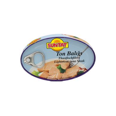 Tuno gabaliukai aliejuje SUNTAT, 115 g