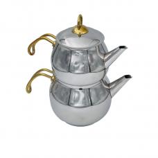 Turkiškas arbatinukas su metaline rankena