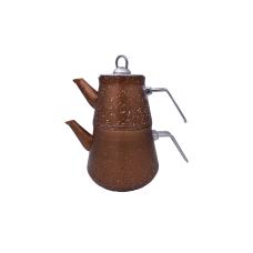 Turkiškas granitinis arbatinukas